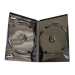 Premium Grade 14mm Double Shiny Black DVD Case - 100% New Material