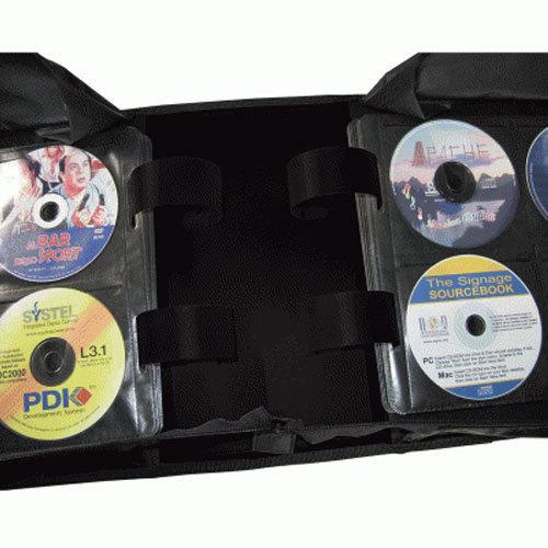 600 Disc Capacity Black Cd Dvd Wallet