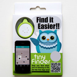 tiny Finder - Bluetooth Tracking Tag (White)