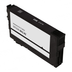 Epson T802XL120 Remanufactured High Yield Black Ink Cartridge