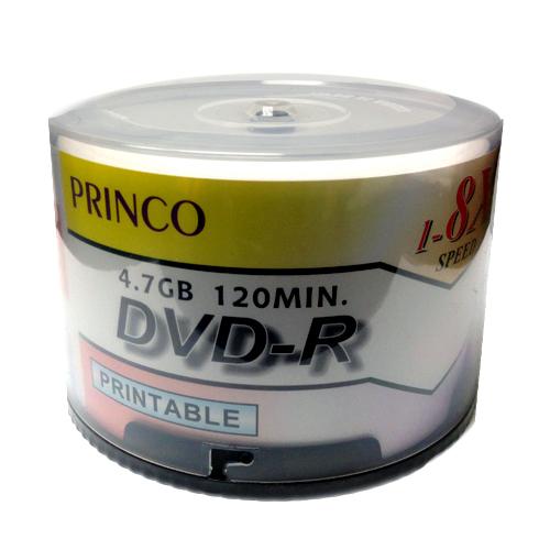 Princo DVD R 8X White Inkjet Printable