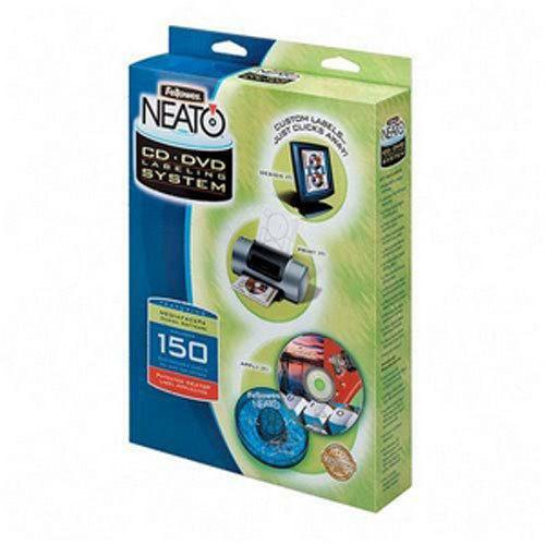 Fellowes Neato Cd Dvd Labeler Kit Cxk 199940 Applicator Software Labels
